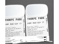 Thorpe Park Tickets + FastTrack
