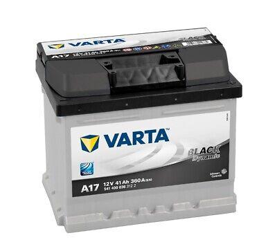 VARTA Black Dynamic Autobatterie A17 12V 41Ah ers. 36 41 43 44 45Ah *NEU&Sofort*