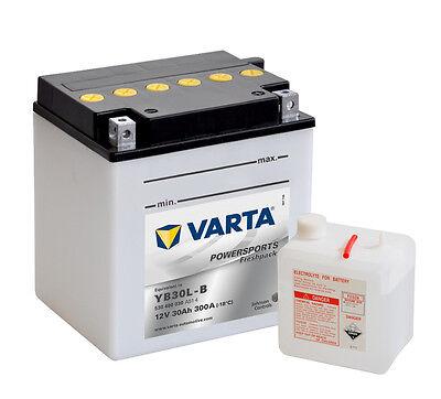 VARTA Quad ATV & UTV Batterie 12V 30 Ah 530400030 30Ah CB30L-B NEU
