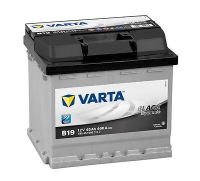 Varta Black Dynamic Car Battery b19 45AH starterbatterie 545412040 NEW