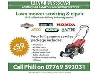 Lawnmower Service