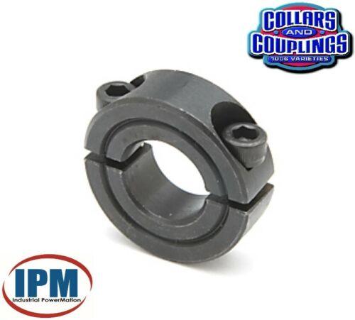 "FACTORY NEW! 5/8"" Double Split 2-PC Clamp Shaft Collar Steel Black Oxide CCI622S"