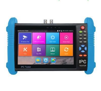 7 Inch H.265 4K CCTV Tester Monitor IP Analog Camera Tester ONVIF POE 12V outprb Cctv-tester