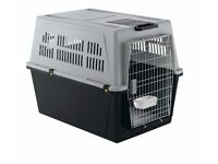 Ferplast Atlas 70 Large Pet Carrier With Pull-out Handle and Wheels Used Once IATA Compliant