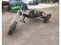 vw beetle based trike project, 1300 gearbox