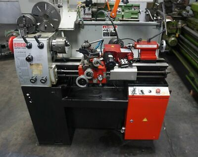 11 X 25 Emco Super 11cd Tool Room Lathe With Mill Grind Attachment