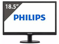Philips 196V4LAB2 18.5-Inch V-Line LCD Monitor with LED Backlight