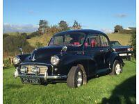 Classic 1957 Morris Minor