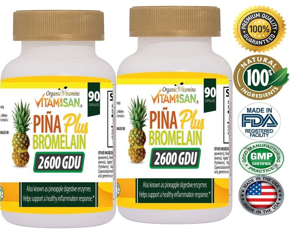 2 Piña Slim Pastillas para Adelgazar Rapido Naturales Bajar Peso weigth loss