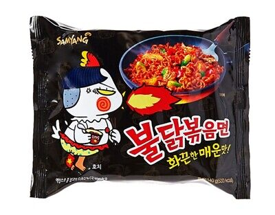 Korean Hot Spicy Instant Noodle SAMYANG BULDAKBOKEUM Ramyun Ramen 40pack Set