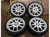 """GENUINE BBS 19"""" ALLOYS + Tyres X4"""
