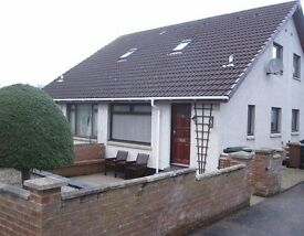 1 Bedroom Four-Plex with garden and garage, Lochardil Inverness