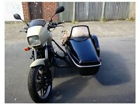 Project bike- Honda CBX750P with sidecar