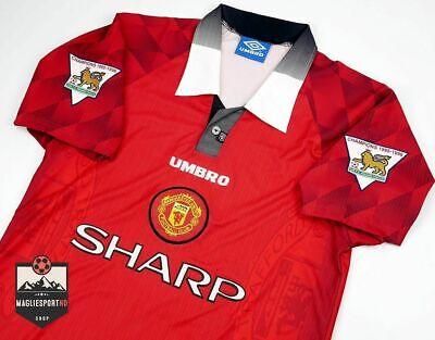 Maglia Manchester United 1996 - Calcio Vintage Retro Premier League Cantona