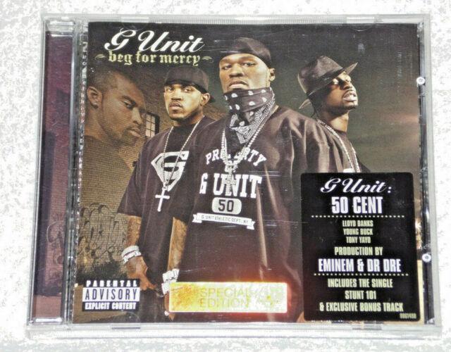 MUSIC CD ALBUM G UNIT 50 CENT BEG FOR MERCY 19 TRACKS ENIMEM & DR DRE | in  Lewisham, London | Gumtree