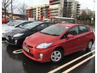 Toyota Prius Car For Rent / Hire £110 a week Ford Galaxy, VW Sharan