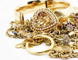 ISO....GOLD & SILVER JEWELRY,  Old or Broken