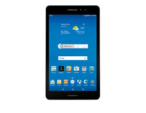 """ZTE Trek 2 HD K88 Wi-Fi GSM AT&T Unlocked 8"""" Android Tablet Gray 5MP - N"""