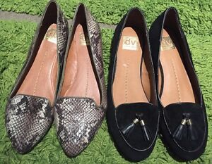 2 pairs DV Dolce Vita Womens Flats Loafers - Size US 9.5 St Leonards Willoughby Area Preview