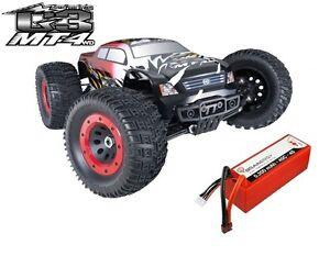 Thunder Tiger MT4 G3 *WATERPROOF* 6s BL Monstertruck 2.4GHz RTR 1:8 & 4s LiPo