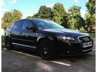 Audi A3 Sline 2.0 TDI - ONE OF A KIND (LOADS OF EXTRAS) e.g. White and black heated leather seats