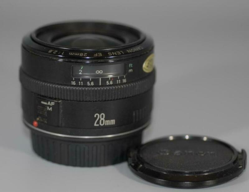 Canon EF 28mm f2.8 wide-angle lens for EOS DSLR cameras - Nice Mint-!