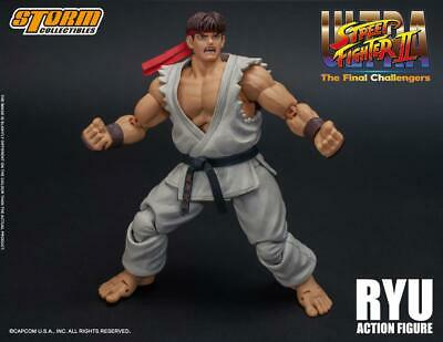 Storm Collectibles Street Fighter II Ryu 1:12 Scale Action Figure IN USA NOW! for sale  Shipping to India