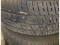 195/65/16 Mercedes Vito wheels and tyres