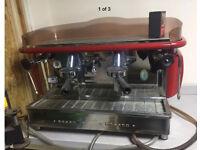 Fiorenzato group 2 commercial coffee machine cafe burger van etc