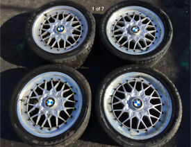 BMW E36 BBS alloy wheels
