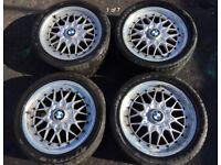 BMW E36 BBS alloy wheels