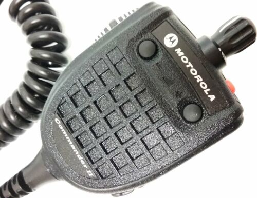 Motorola JEDI Commander II VHF UHF Remote Speaker Microphone XTS3000 XTS5000