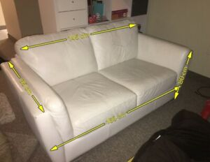 White couch / love seat needs to go