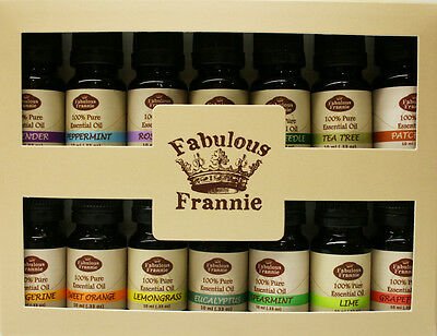 Essential Oil 10 ml 100% Pure Grade Beginner Set US FREE SHIP Fabulous Frannie