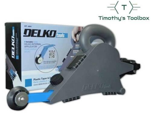 Delko Drywall Taping Banjo w/ Inside Corner Creaser Wheel - DIY, Remodeling