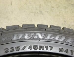 Dunlop Winter Maxx 225/45/17