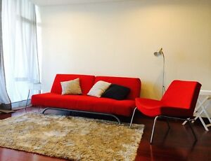 Freedom sofa futon sofabed + chair set Little Bay Eastern Suburbs Preview