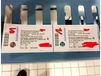 2 Barcelona FC v Celtic FC tickets for sale