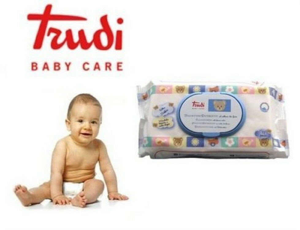 TRUDI BABY CARE OFFERTA PACK 12X  - Salviettine Detergenti - 864 SALVIETTE TRUDY