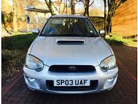 Subaru Impreza 2.0 WRX Turbo Not STI prodrive pack