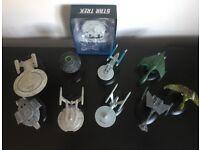 Star Trek collector model starships