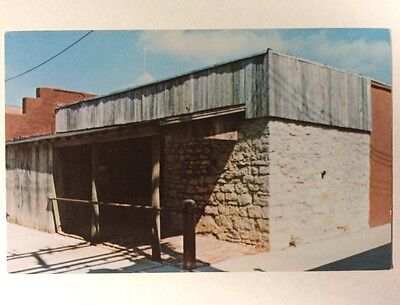 Coffeyville City Jail  Kansas Ks Death Alley Dalton Gang Chrome Postcard Unused
