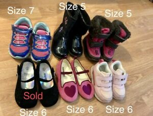 Toddler shoes boots size 6 size 7