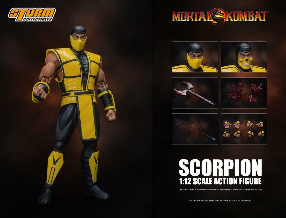 Storm Collectibles 1/12 Scale Mortal Kombat Scorpion Action