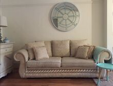 Tuscany European  3 seater (sofa bed) and 2 seater lounges. Waverley Eastern Suburbs Preview