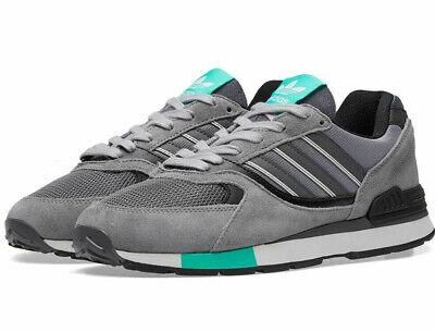bnib ADIDAS QUESENCE UK 7  grey / black / green
