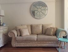 European Tuscany 3 seater (sofa bed), and 2 seater lounges. Waverley Eastern Suburbs Preview