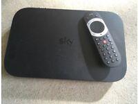 Sky Q box and remote