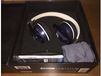 Sennheiser Urbanite blue headphones