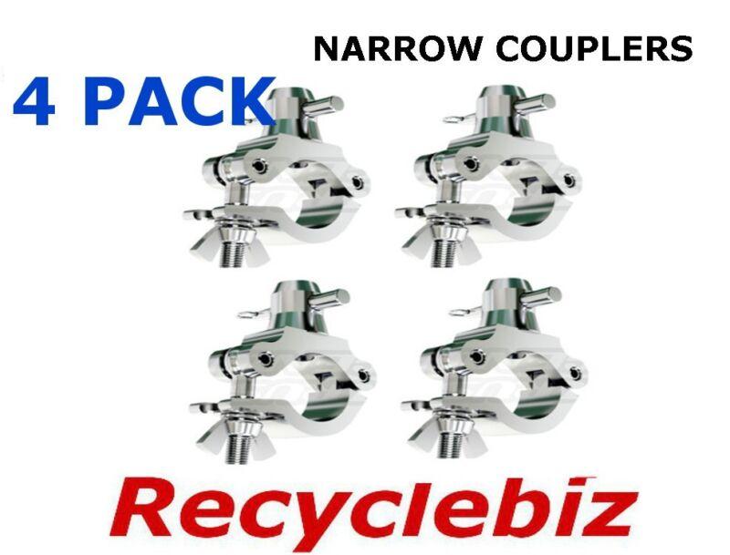 Global Truss Narrow Coupler Clamp (4 PACK) Clamp/N Narrow Clamp w Half Coupler!